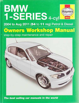 BMW 1-series E81, E87, E82 Petrol, Diesel 2004 - 2011 Workshop Manual