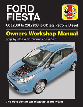 Ford Fiesta Petrol & Diesel 2008 - 2012 Haynes Repair Manual