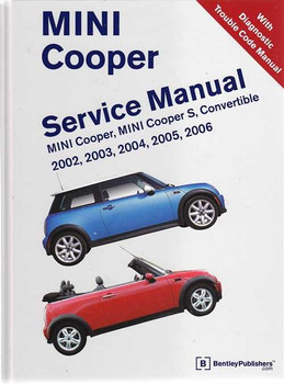 Mini Cooper, Cooper S, Convertible 2002 - 2006 Workshop Manual