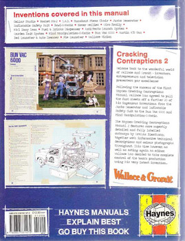 Wallace & Gromit Cracking Contraptions Manual Vol 2
