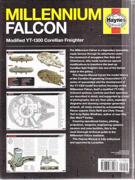 Millenium Falcon Modified YT-1300 Corellian Freighter Owner's Workshop Manual