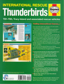 International Rescue Thunderbirds TB1 - TB5  Agent's Technical Manual