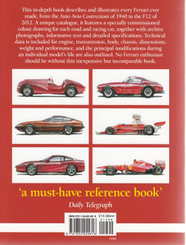 Ferrari All The Cars - Every Ferrari Ever Made Described & Illustrated (2nd Edition)