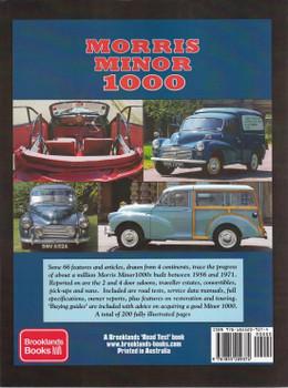 Morris Minor 1000 - Brooklands Road Test Portfolio