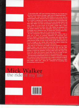 The Ride of My Life book cover back