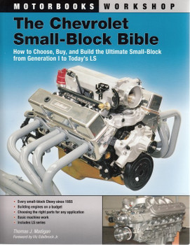The Chevrolet Small-Block Bible Front Cover