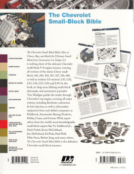The Chevrolet Small-Block Bible Back Cover