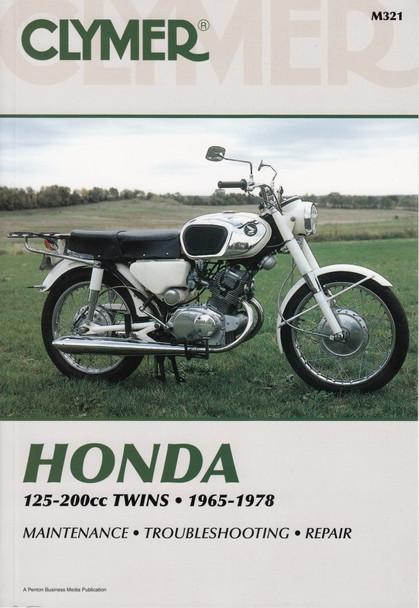 Honda 125 - 200cc Twins 1965 - 1978 Repair Manual
