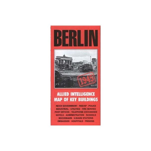Berlin Itelligence Map: Allied Map Of Key Buildings