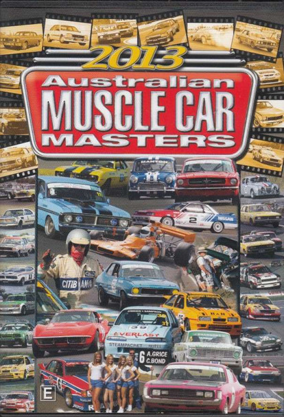 Highlights of the 2013 Australian Muscle Car Masters DVD