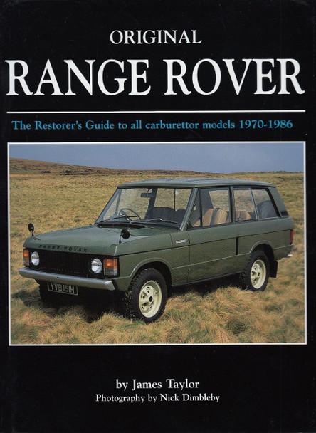 Original Range Rover The Restorer's Guide