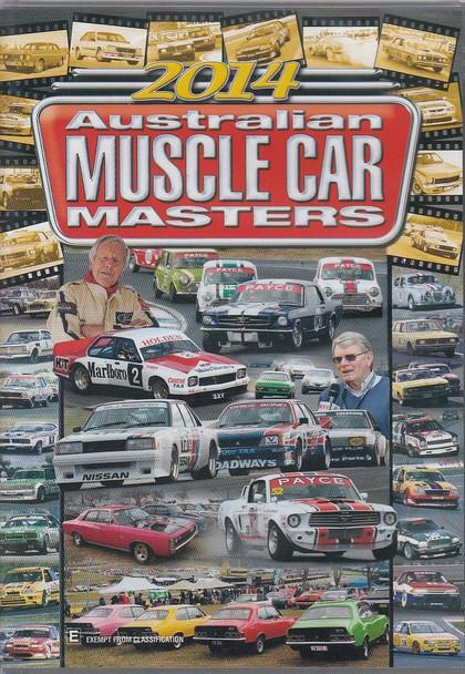 2014 Australian Muscle Car Masters DVD