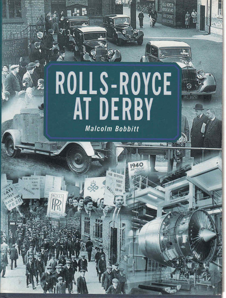 Rolls-Royce At Derby - 1st Edition  - front