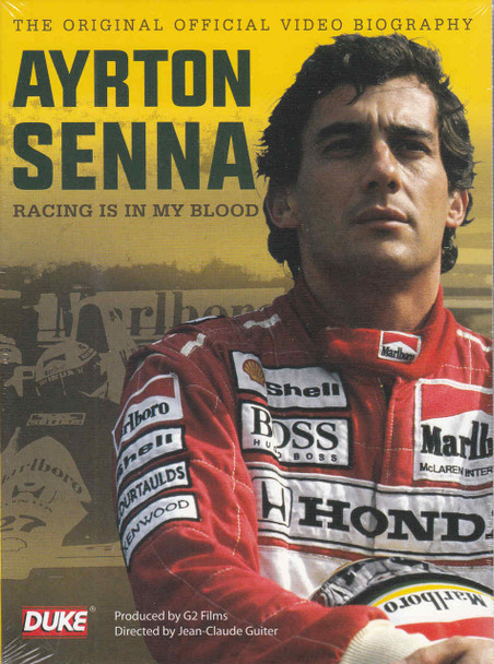 Ayrton Senna: Racing Is In My Blood DVD  - front