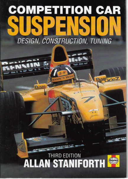 Competition Car Suspension: Design,Construction,Tuning - 3rd Edition - front