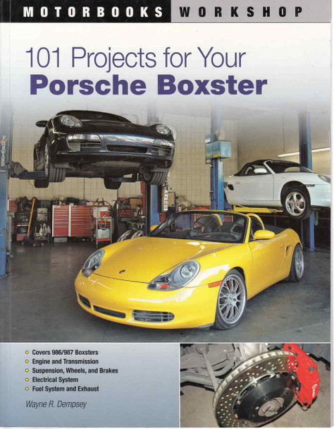 101 Projects For Your Porsche Boxter (9780760335543)  - front