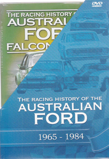 Racing History Of The Australian Ford 1965 - 1984 4 DVD Gift Set (9340601000612)  - front