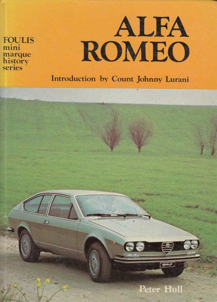 Alfa Romeo (Foulis Mini Marque History Series) (9780854291984)
