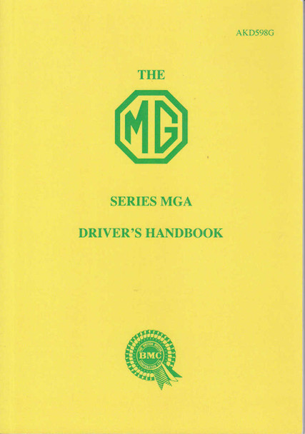 The MG Series MGA Driver's Handbook (AKD598G)