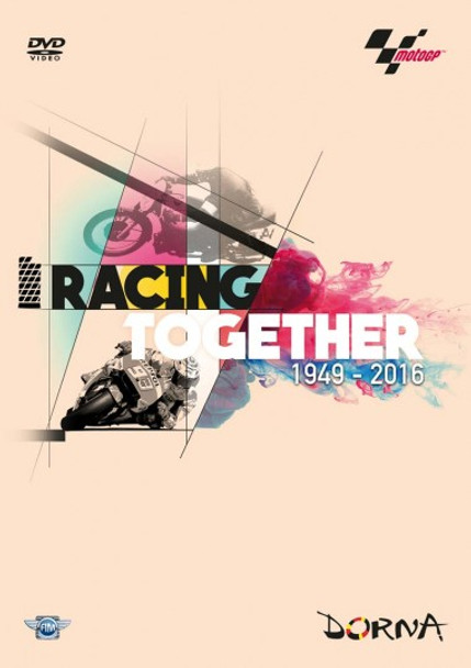 Racing Together 1949 - 2016 A History Of MotoGP (118 Mins) DVD