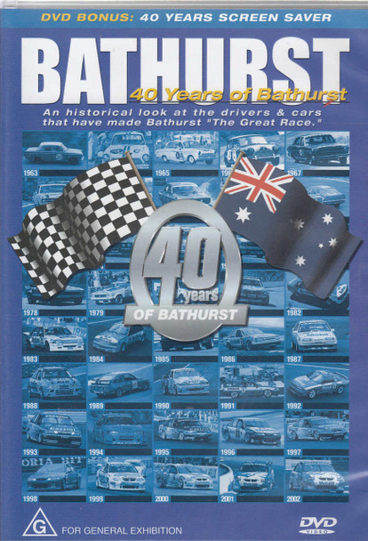 Bathurst - 40 Years of Bathurst DVD