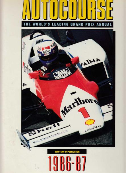 Autocourse 1986 - 1987 (No. 36) Grand Prix Annual