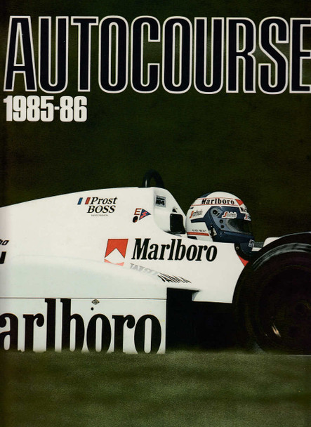 Autocourse 1985 - 1986 (No. 35) Grand Prix Annual
