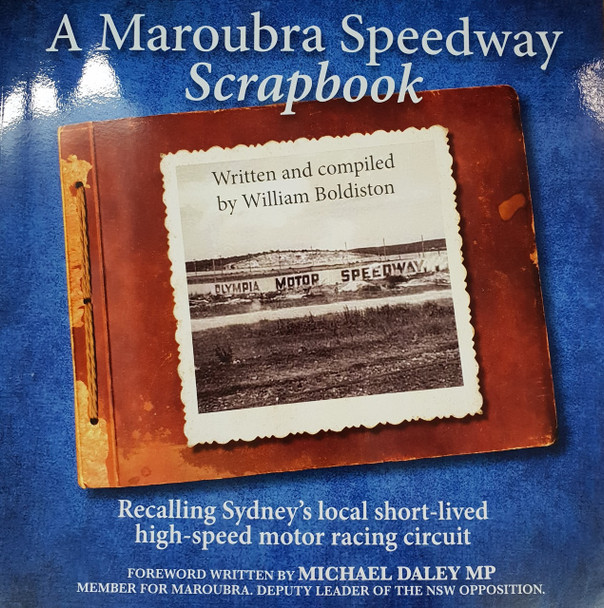 A Maroubra Speedway Scrapbook (William Boldiston) (9780975721292)