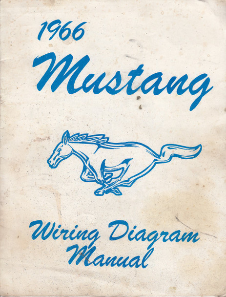 966 Ford Mustang Wiring Diagram Manual