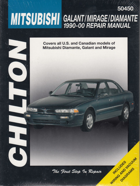 MITSUBISHI GALANT, MIRAGE & DIAMANTE 1990-2000 CHILTON REPAIR MANUAL