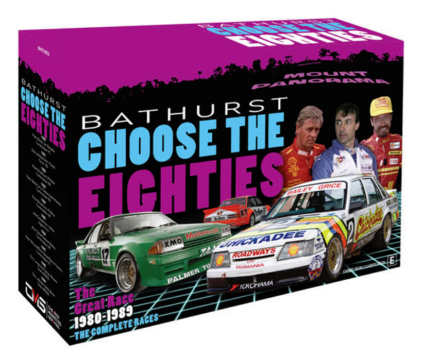 Bathurst Choose The Eighties - The Great Race 1980 - 1989 The Complete Races DVD Set