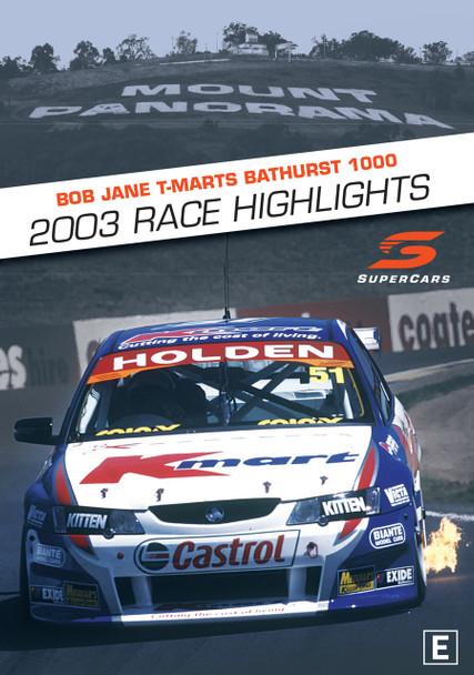 Bob Jane T-Marts Bathurst 1000 20023 Race Highlights DVD (9340601002180)