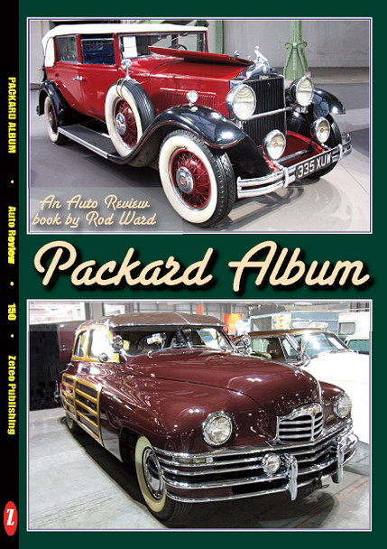 Packard Album An Auto Review Book by Rod Ward (Auto Review No.150) (9781854821495)