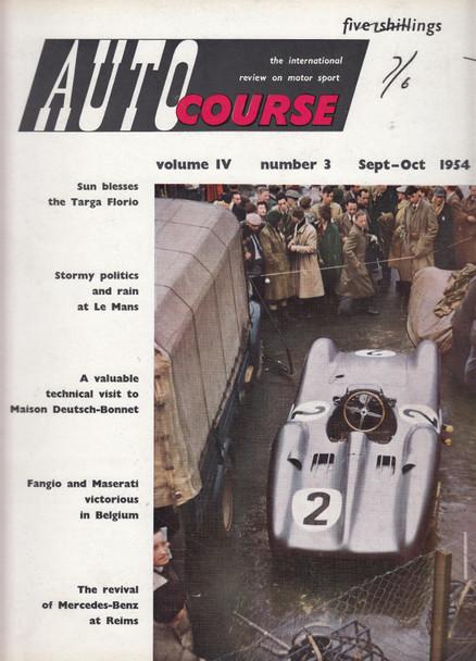 Autocourse 1954 - Volume IV Number 3 September - October 1954 (Paperback ) (B00G5RBLBO)