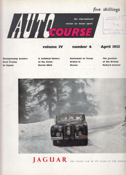 Autocourse 1954 - Volume IV Number 6 April 1955 (Paperback ) (B07D7FBNMB)