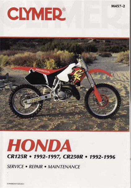 Honda CR125R and CR250R 1992 - 1997 Workshop Manual