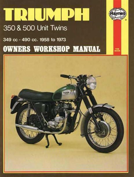 Triumph 350 & 500 Unit Twins 1958 - 1973 Workshop Manual