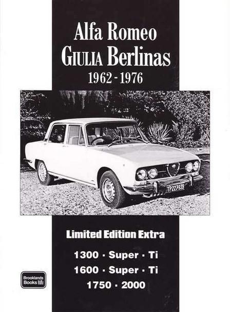 Alfa Romeo Giulia Berlinas Limited Edition Extra 1962 - 1976