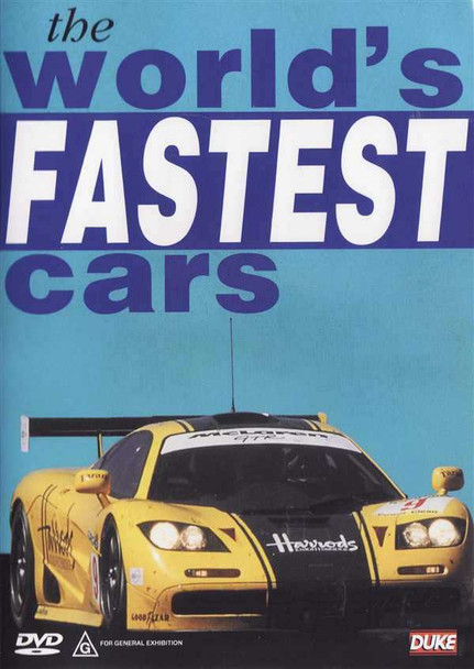 The World's Fastest Cars DVD
