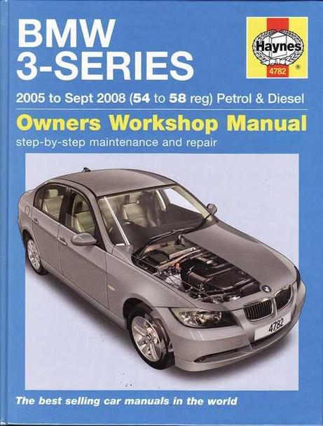 BMW 3-Series E90, E91 Petrol and Diesel 2005 - 2008 Workshop Manual