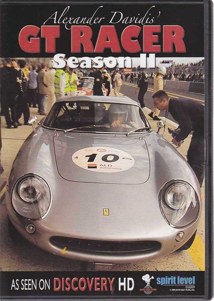 Alexander Davidis' GT Racer Season II DVD