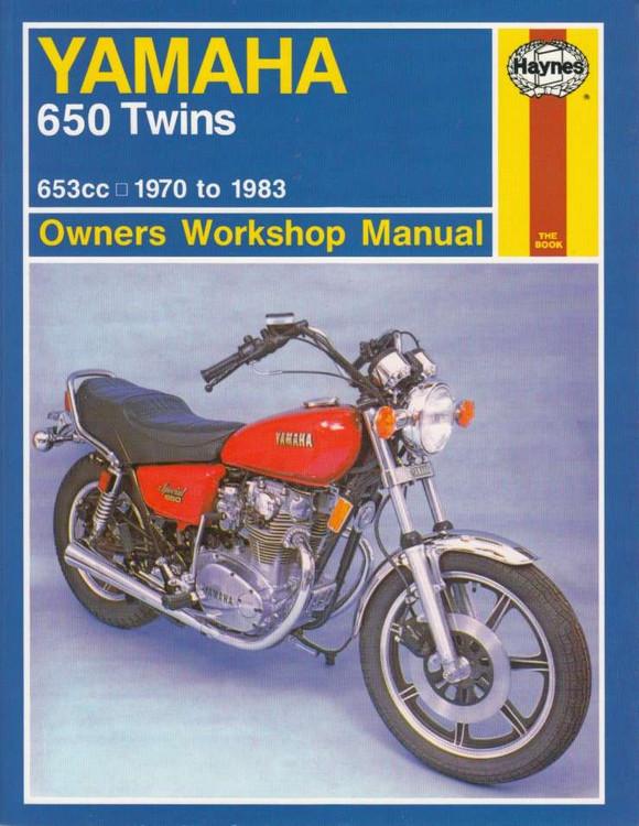 Yamaha 650 Twins 653cc 1970 - 1983 Workshop Manual