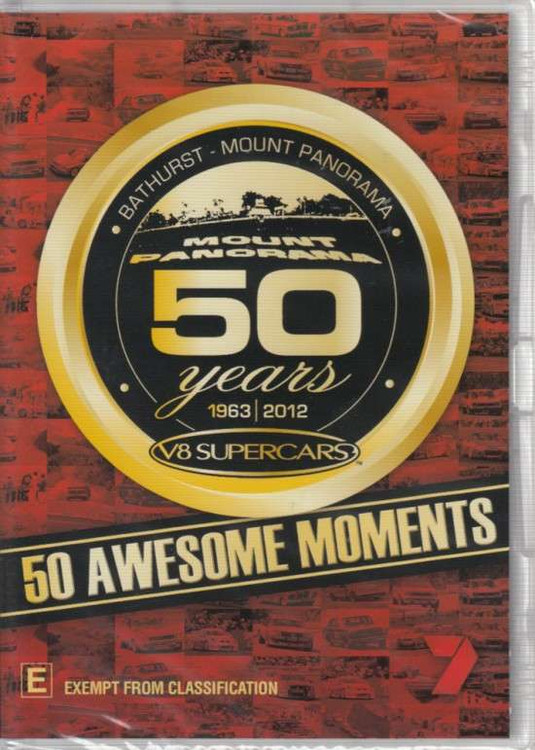50 Years Of Bathurst: 50 Awesome Moments DVD