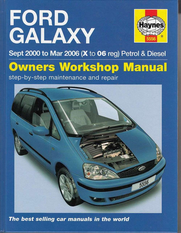 Ford Galaxy Workshop Manual