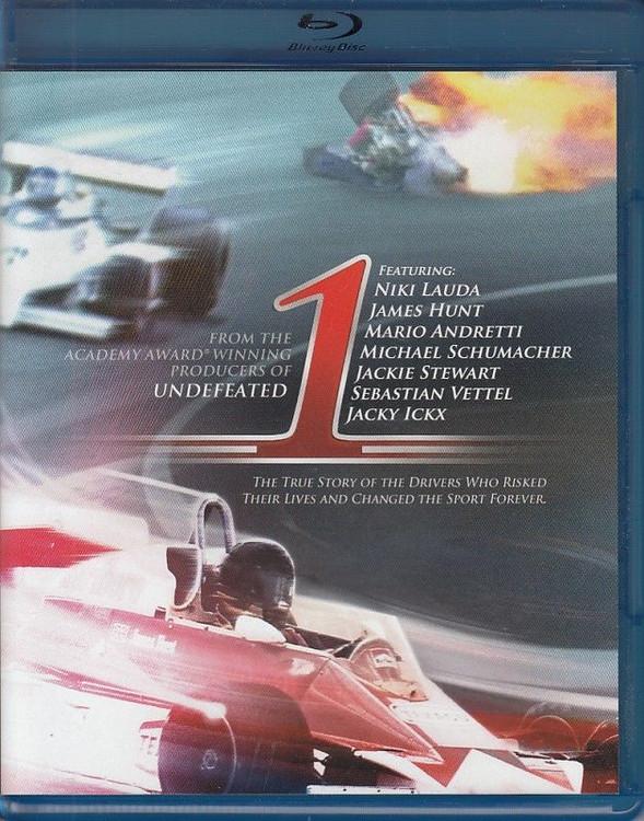 1 The Movie (Formula One) Blu-ray