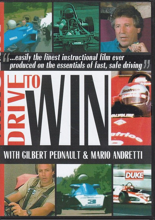 Drive to Win With Gilbert Pednault & Mario Andretti DVD