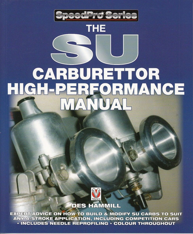 The SU Carburettor High-Performance Manual