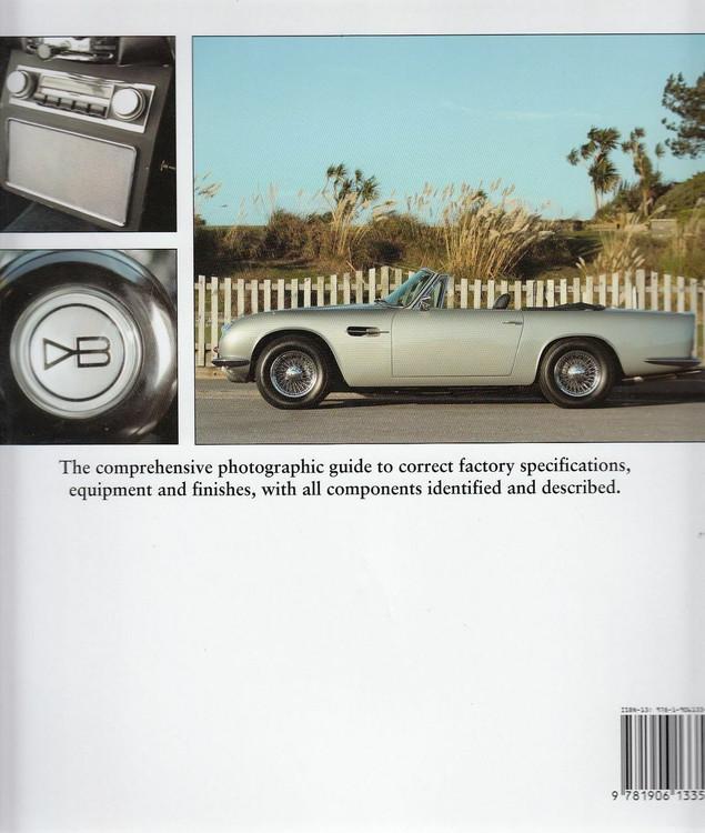 Factory-Original Aston Martin DB4/5/6 Back Cover