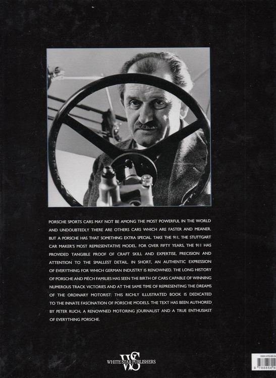 Porsche The Story of a German Legend Back Cover