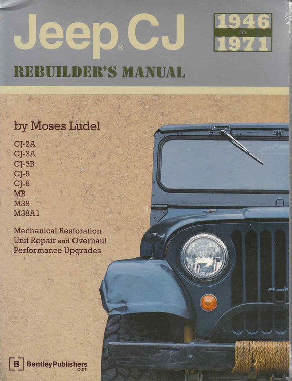 Jeep CJ 1946-1971 Rebuilder's Manual  - front